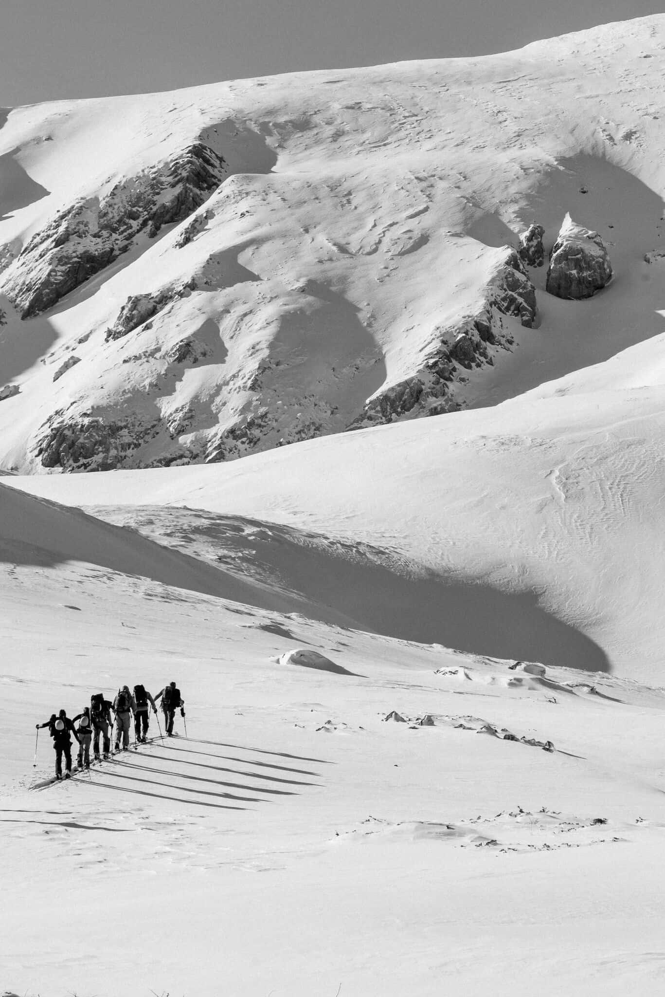Skitouring w Macedonii