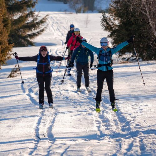 Obóz skiturowy na Jaworzynie Krynickiej